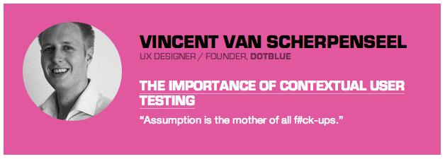 Vincent van Scherpenseel's talk at WebExpo 2013 conference